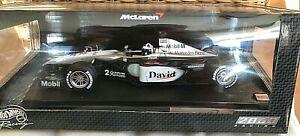 Hot Wheels Formel 1 McLaren Mercedes MP 4/15 Driver D. Coulthard 26740 OVP 1:18