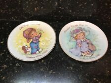 Cherished Moments Avon Japan Mother's Day Collector Plate 1981 1982 Lot