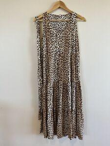 Boho Australia   Leopard Print   Maxi Dress - Size S / Small