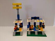 Lego Soccer #3402 Grandstand With Lights + #3403 Fans Grandstand Incomplete