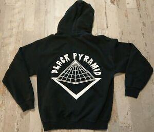 Chris Brown Black Pyramid Hoodie Hooded Sweatshirt Woman's Medium (Men's Small)