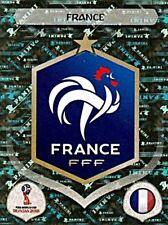 Panini Fifa World Cup 2018 Russia Glitzer Sticker 192 Wappen Frankreich