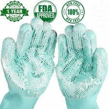 Dishwashing Gloves Kitchen Silicone Cleaning Gloves Magic Silicone Household New