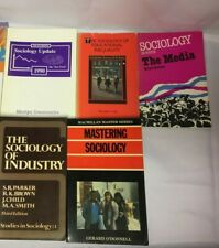 6x Sociology Education Books Educational Inequality The Media Industry 1990