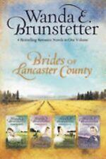 HC/DJ 4 in 1  Wanda E. Brunstetter  Brides of Lancaster County, Merry Heart &...
