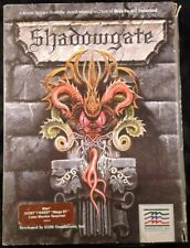 Shadowgate - Atari ST - Mindscape 3.5 Inch Disk CIB (1988)