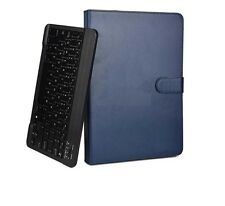 Custodie e copritastiera blu in pelle per tablet ed eBook Huawei