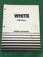 OEM, WHITE 448 Plow Parts Catalog, 1975, 438 187