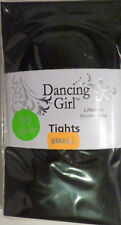 Dancing Girl Small Size Opaque 70 Denier Tights with Lycra in Black