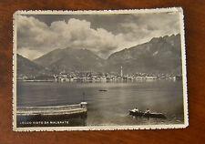 CARTOLINA LECCO VISTO DA MALGRATE VIAGGIATA 1938 SUBALPINA YY