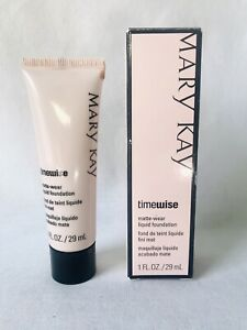 Mary Kay TimeWise Matte Wear Liquid Foundation Ivory 7 Combo to Oily Skin