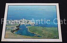 R165 Poster photographie Port Pêche Bretagne Rossignol 76*56 cm