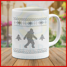 Mug Ugly Sweater Abominable Snowman Big Foot Yeti Gifts Cool Best Special Mugs