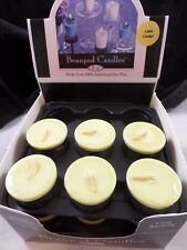 Beanpod Candles Lime Cooler  15 Votives New 100% Stabilized Soy Wax Blue