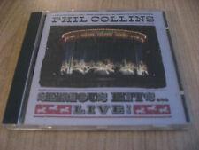 PHIL COLLINS serious hits...live! CD ROCK POP GENESIS PETER GABRIEL STING