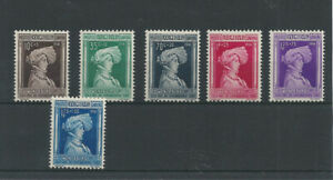 Postage Stamps Luxembourg 1936  294/299  - Au profit d'oeuvres sociales  MNH **