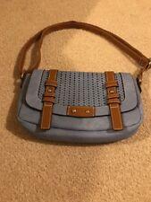 Per Una Blue With Brown Trim NEW Handbag Size 12x7 Inches