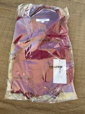 T.M.lewin wine pussybow size 8 PRP £39.95