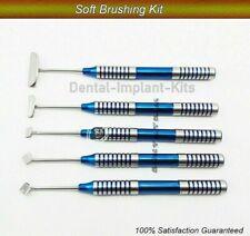 Soft Brushing Kit 5 Pcs Dental Implant Lingual Flaps Surgery New CE