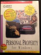 VINTAGE 1994 SWIFT PLATINUM PERSONAL PROPERTY FOR WINDOWS 95 HOME INVENTORY
