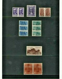 SOUTH AFRICA WWII ISSUES MNH - MH