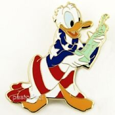 Disney Pin D23 DONALD DUCK AMERICAN FLAG STATUE OF LIBERTY Patriotic USA Archive
