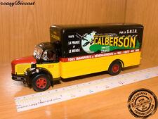 "BERLIET GLR ""CALBERSON"" 1:43 FRANCE FRENCH TRUCK 1956"