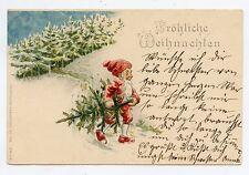 Gnomes, Lutins, nains . SAPIN DE NÖEL . Pixies, Dwarf . CHRISTMAS TREE