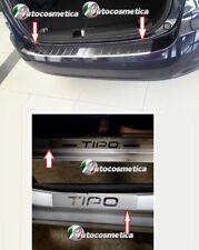 Battivaligia Protezione Paraurto post. cromo+4 battitacco acciaio FIAT Tipo SW