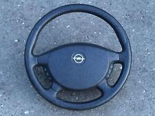 Opel Omega B 2,5DTi Bj02 Lenkrad Leder mit Airbag Multifunktionslenkrad 24426043