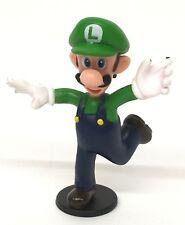 "Nintendo LUIGI Figure PVC 2.5"" inch Loose 2007 Super Mario Bros."