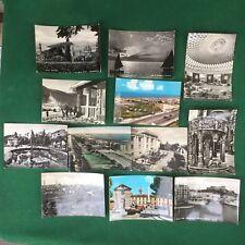 TOSCANA lotto 12 Cartoline FIRENZE VIAREGGIO SIENA PRATO ISOLA D'ELBA