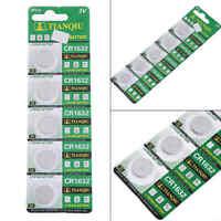5 Stück CR1632 BR1632 ECR1632 3V Knopfzelle Batterie Elektronische Knopfbatterie