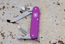 NEW VICTORINOX 2016 CADET ALOX LIMITED EDITION KNIFE 2016 ORCHID 0.2601.L16