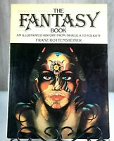 The Fantasy Book by Franz Rottensteiner Dracula Tolkien Dragons Vintage 1978