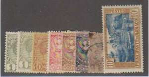 A7221: Early Monaco Stamp Lot; CV $190