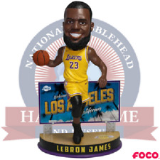 LeBron James Los Angeles Lakers Welcome to California Billboard Bobblehead NBA