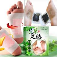 10 STÜCKE Gute Detox Wermut Fuß Pads Patch Entgiftung Giftstoffe Halten Passt -