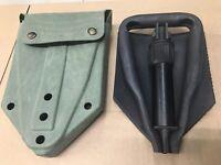 new US GI Military Entrenching Intrenching Trifold Folding Etool E-tool Shovel