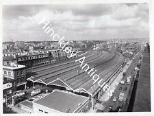 More details for original photograph euston railway station before rebuilding 1960's br aerial