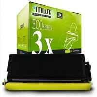 3x MWT Eco Cartucho Compatible para Brother HL-1230 MFC-9880 HL-1440 DCP-1200
