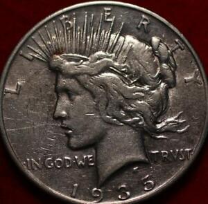 1935-S San Francisco Mint Silver Peace Dollar