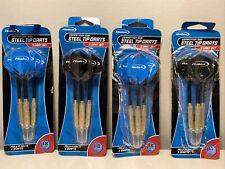 Halex Competition 1000 Darts Steel Tip Brass Barrels 18G & 17G 4 packs of 3ea