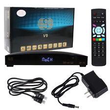 Genuine V8 Openbox HD FTA IPTV Web TV Satellite Receiver Sky Box Wifi Adapter