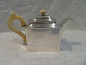 Gorgeous 1840's Austrian Hungary empire 813 silver tea pot for 2 305gr 10,7oz