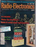 Radio Electronics Magazine November 1968 , Go Go Music , Vibrato ,100 pages /a9