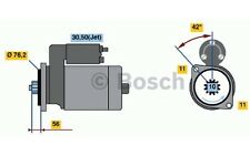 BOSCH Motor de arranque 1,8kW 12V VOLKSWAGEN GOLF FORD SEAT AUDI 0 986 016 980