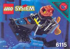 LEGO 6115 - Aquazone: Aquasharks: Shark Scout - No BOX