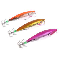 Fishing Lure Squid Hook With Crane Swivel Wobblers Jigs Octopus Cuttlefish DD