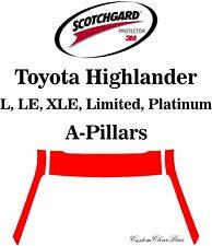 3M Scotchgard Paint Protection Film Clear Pre Cut 2020 2021 Toyota Highlander